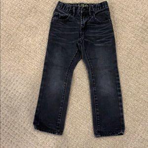Washed black Gap 1969 jeans, size 6